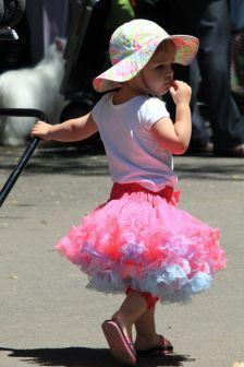 Junior handler fashion show.