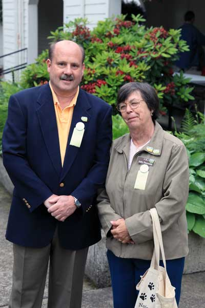 Club Delegate Steve and Club Treasurer Judy